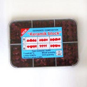 Инзомы для металлокерамики 480 ед. (красные)