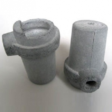 Тигель для плавки металла под литейные уставновки типа  «Дегусса» (Украина)